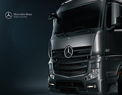 Mercedes Actros CGI