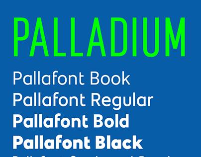 Palladium Bespoke Fonts