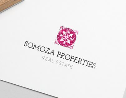 Somoza Properties Real State | Logo Redesign