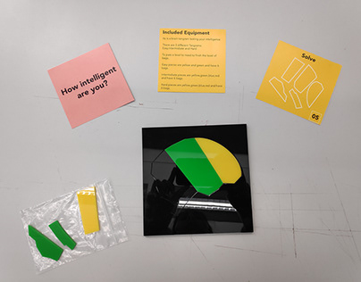 Brain Tangram Game - How intelligent are you ?
