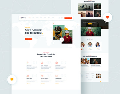 Helpay_Nonfrofit & Charity Template