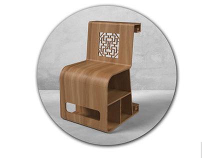 chair-基于中国传统文化符号的座椅设计
