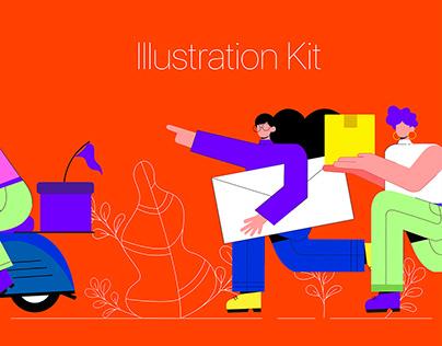 eCommerce Illustration Kit