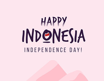 Indonesia's Independence Day Poster