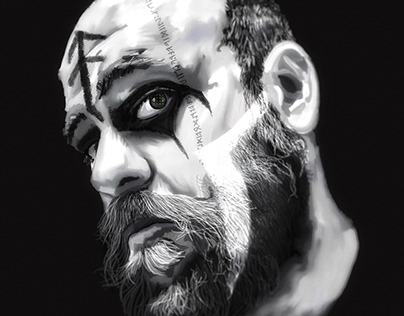 Illustration: Self-portrait