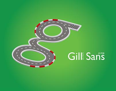 Gill Sans – Poster Concept