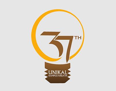 37 Th Unikal Kampus Kreatif Logo