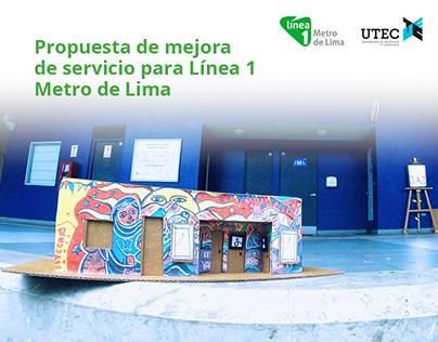 UX Design. Mejora de servicio para Línea 1 Metro de