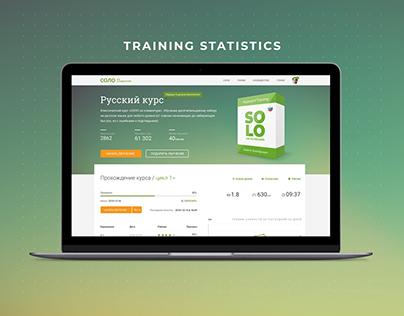 Keyboard Simulator Statistics Page