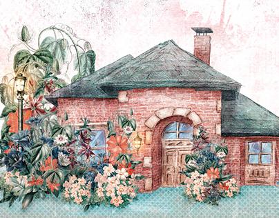 House With Enchanted Garden