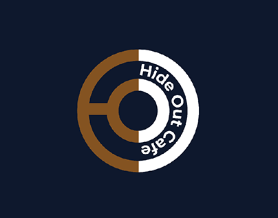 Hide Out cafe Branding