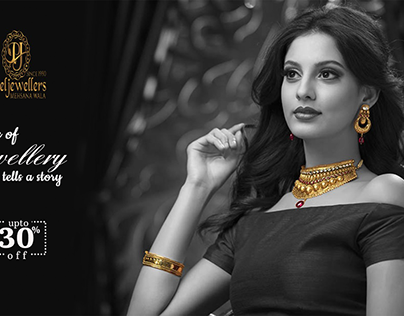Gold Jewelry advertisement