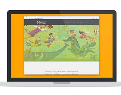 Mazza Website Redesign