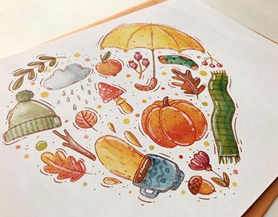 Fall Essentials illustration