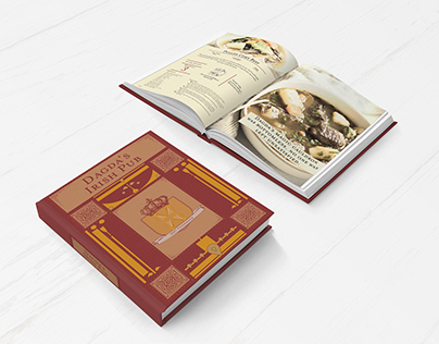Dagda's Irish Pub Menu & Cookbook Design