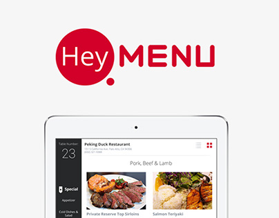 HeyMenu - Digital Menu For Restaurants