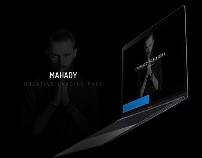 MAHADY (Creative landing page)