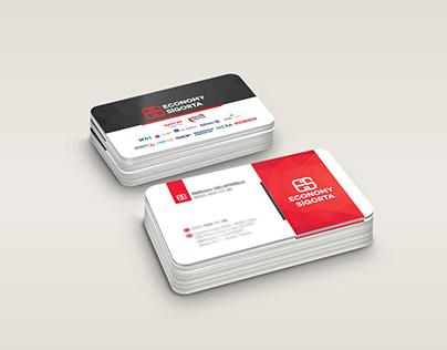 Economy sigorta Kartvizit, Business card
