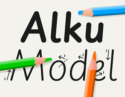 Finnish National Handwriting Model
