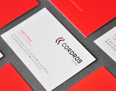 New Visual Identity for Cordros Capital