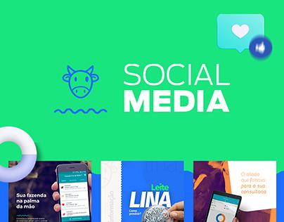 Social Media Leigado
