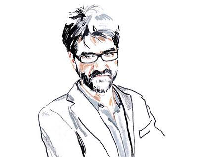Portrait Roan Johnson on Vanity Fair Italia n. 26 2019