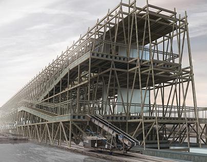 Birth of Salt - Architecture project (Gomso Salt pond)