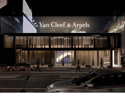 Van Cleef & Arpels 2-Story Corporate NYC Office