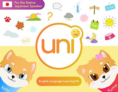 UNI: Output 2 - English Language Learning Kit