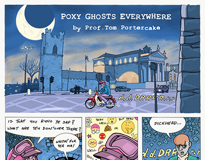 Poxy Ghosts Everywhere
