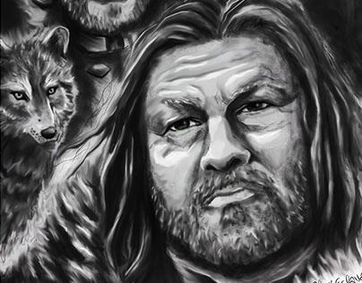 Fan art de Game of Thrones