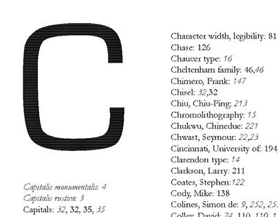 Typesetting Design