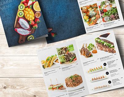Various menu for Parmigiano Group