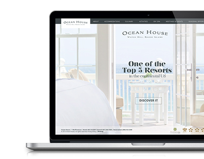 Ocean House Website