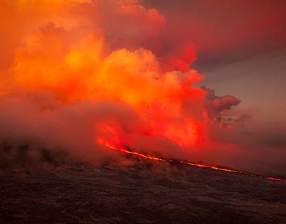 La Fournaise eruption!
