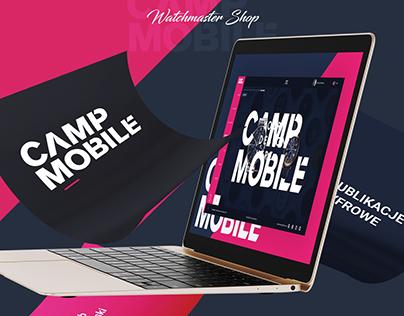 CampMobile - Watchmaster online shop concept