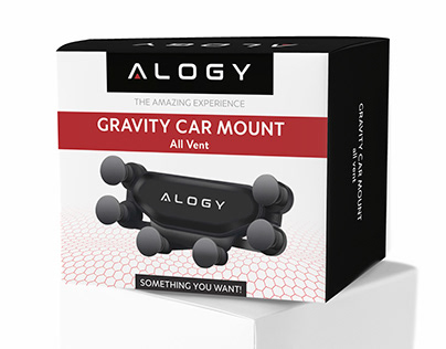 Pudełko Alogy Gravity Car Mount