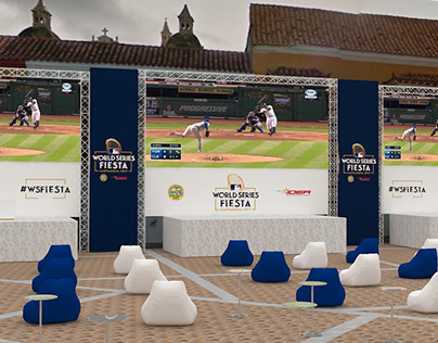 World Series Fiesta - MLB. Plaza de la Aduana, Colombia