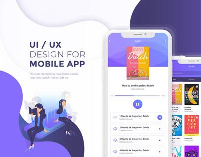 Vanbooks Mobile App Design