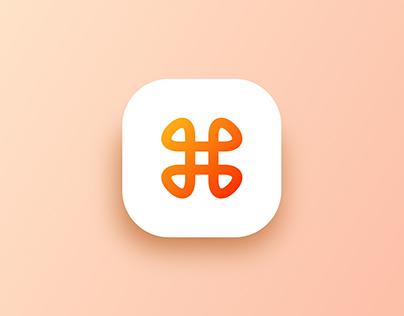 Logo for Happium App