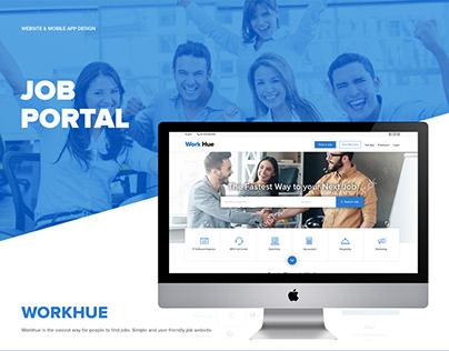 "JOB BOARD - Portal ""Web & App"""