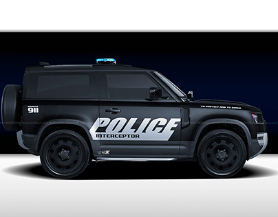 2020 Land Rover Defender USA Police