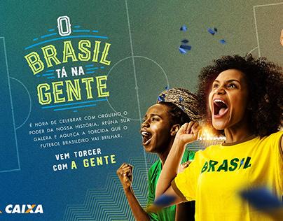 O Brasil ta na gente - Caixa