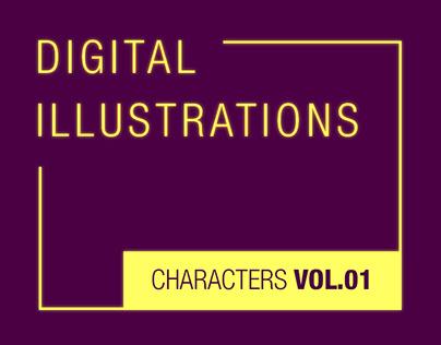 Characters Vol. 01
