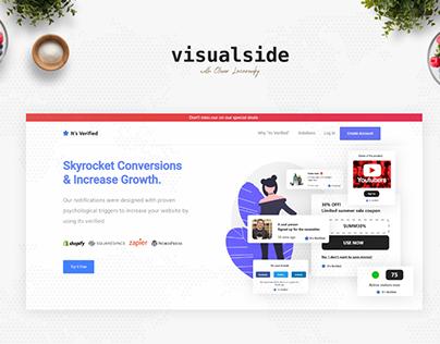 UI Website | Verification Widgets