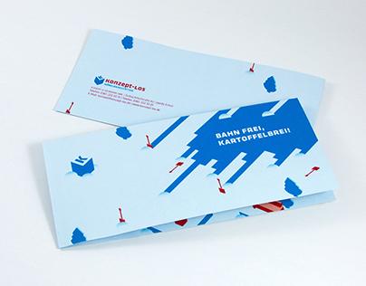 Weihnachtskarte | Konzeptlos