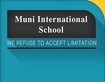 Mobile App for Muni International School - Delhi