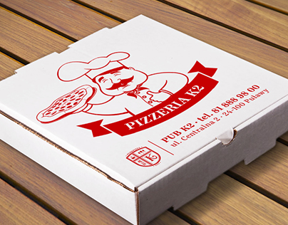 Pizza box print