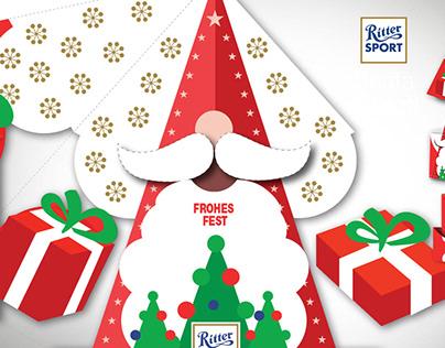 Ritter Sport Spreading Christmas Joy