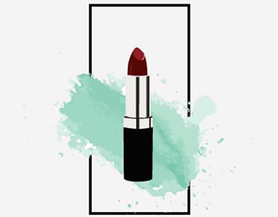 Lipstick animation